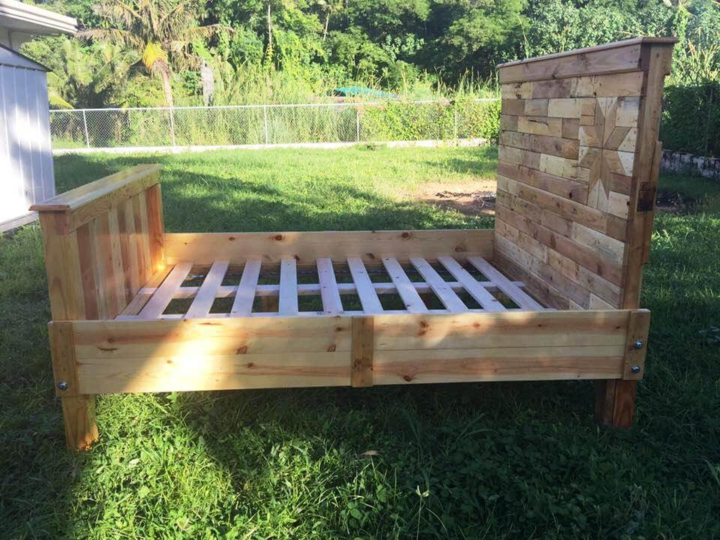 Diy pallet bed frame for your bedroom 99 pallets