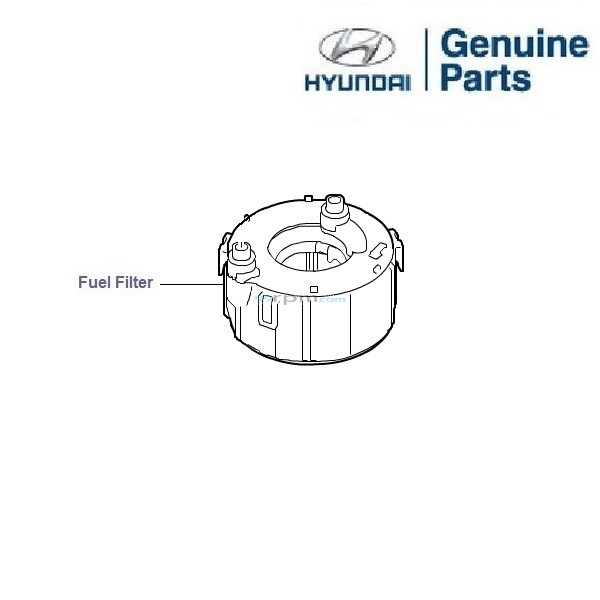 hyundai fuel filter price