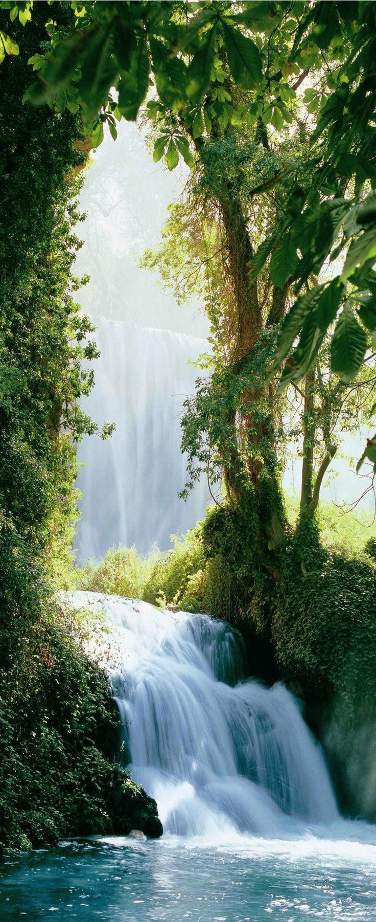 Zaragoza Falls, Waterfall, Pyrenees
