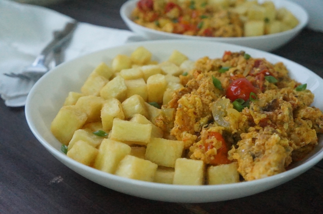 Nigerian stewed egg recipe