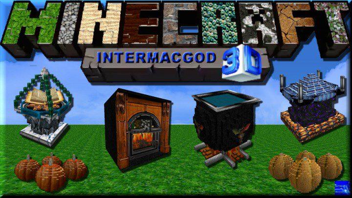 Intermacgod Realistic 3D Resource Pack - 9MinecraftNet
