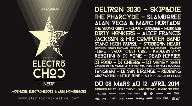 Prism - 9th cloud et Cyril Meroni - Electrochoc Festival 2014