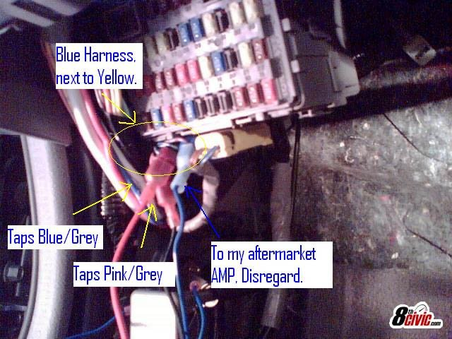 Honda Civic 8th Gen Fuse Box - Wiring Diagram Post