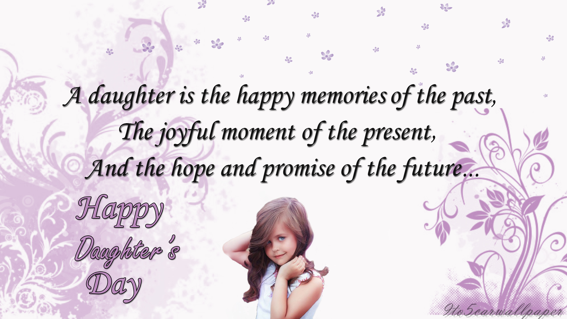 Father Daughter Quotes Wallpapers Happy Daughters Day Images Pics And Wallpapers