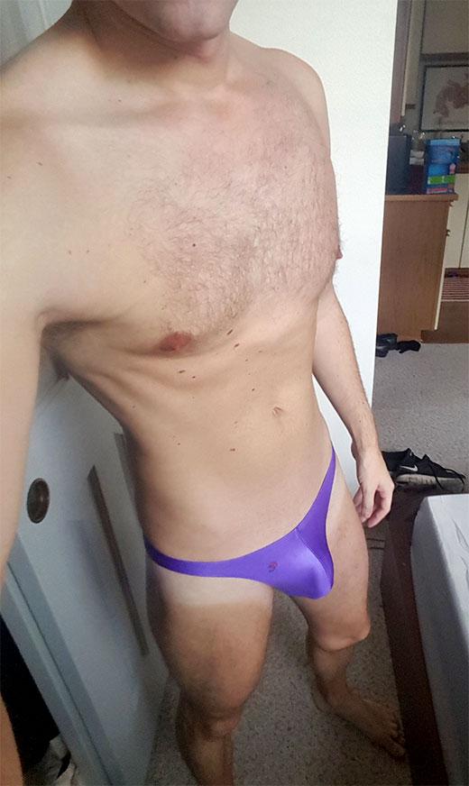 Purple G-String
