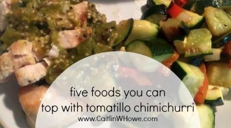Tomatillo Chimichurri Title