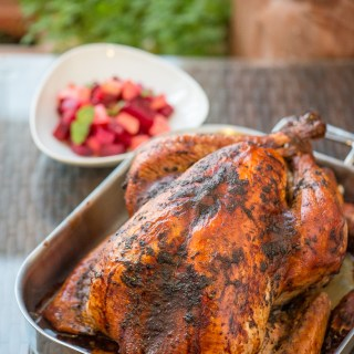 Authentic Real Jamaican Jerk Turkey Recipe by Chef and Steward -1