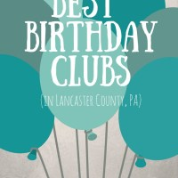 The Best Birthday Clubs to Sign Up for in Lancaster County