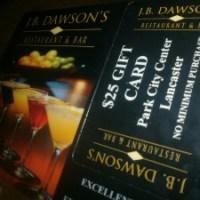 FREE J.B. Dawson's $25 Gift Card