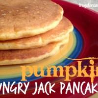 Pumpkin Hungry Jack Pancakes