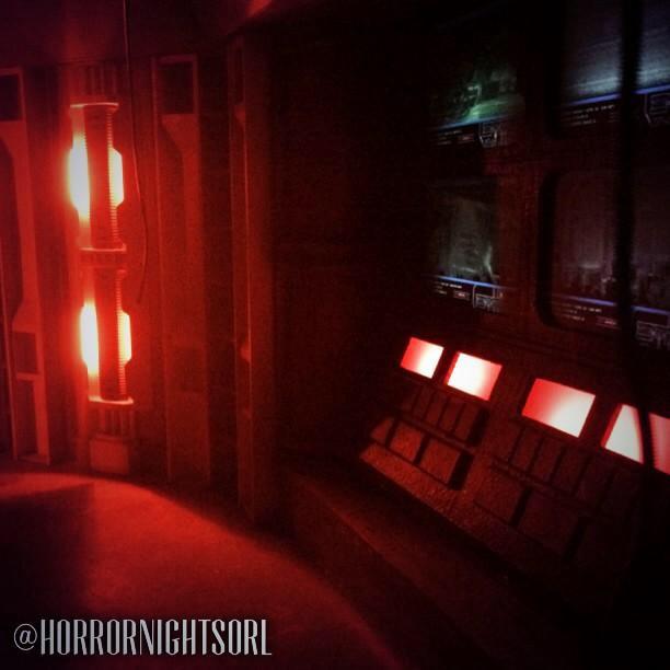 image17 HHN 24: Rehearsing Alien vs. Predator