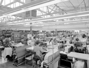 1970s Textile Factory