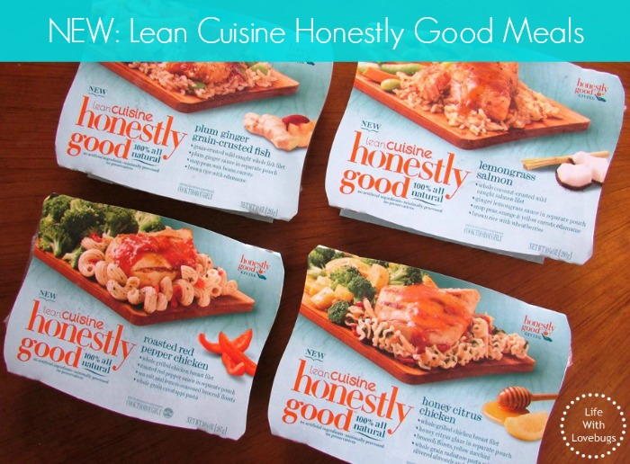 New lean cuisine honestly good meals life with lovebugs for Are lean cuisine meals good for you