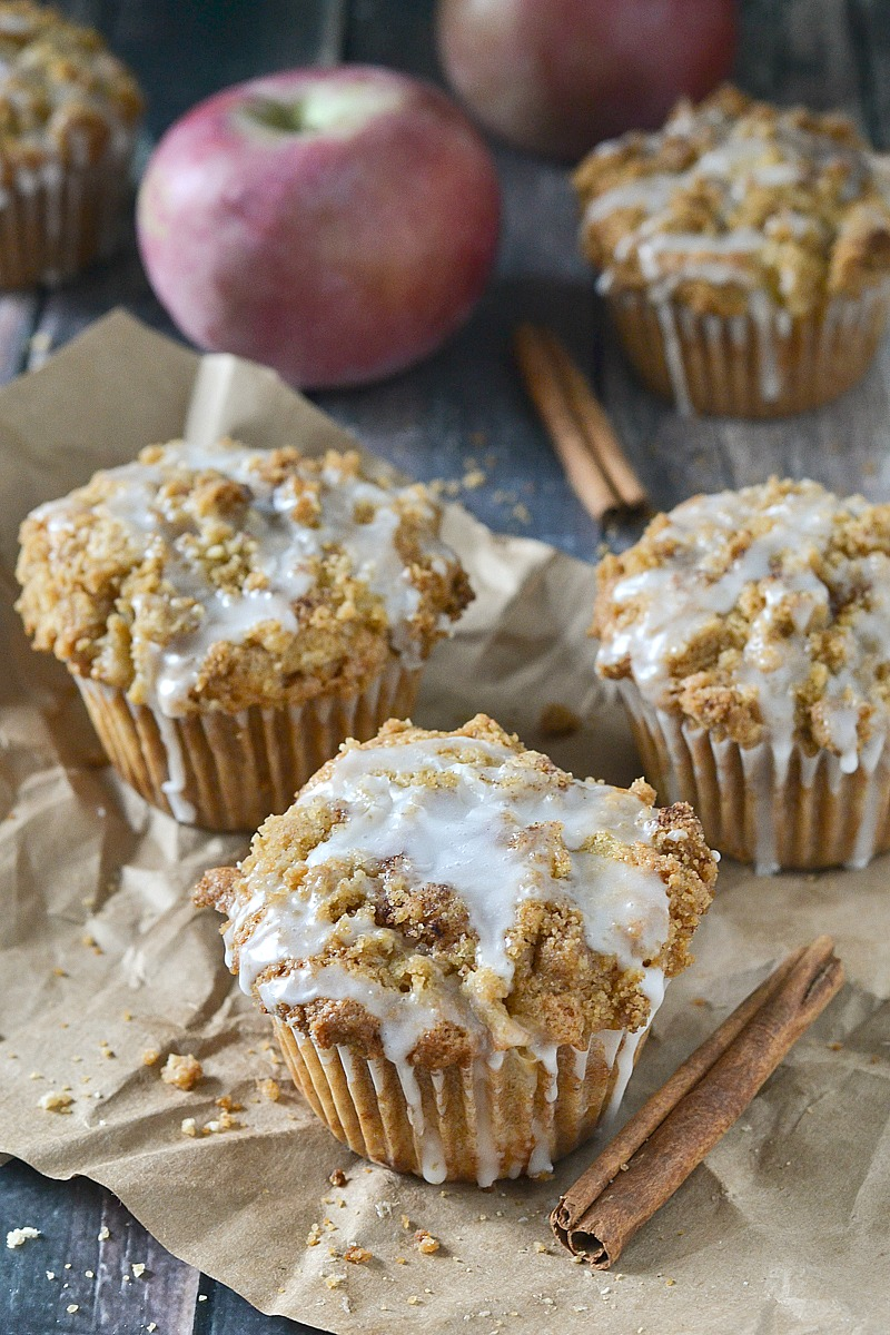 Apple Spice Muffins - www.motherthyme.com