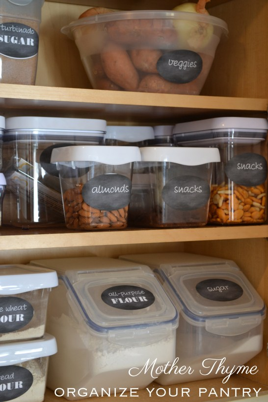 Organize Your Pantry | www.motherthyme.com