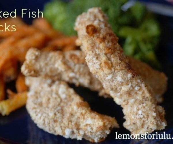 Easy Baked Fish Sticks