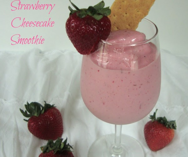 Strawberry Cheesecake Smoothie