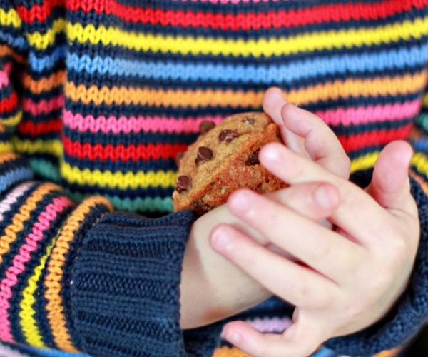 Whole Wheat Carrot Chocolate Chip Mini Muffins