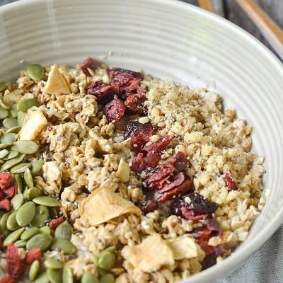 Pumpkin Spice Breakfast Bowls
