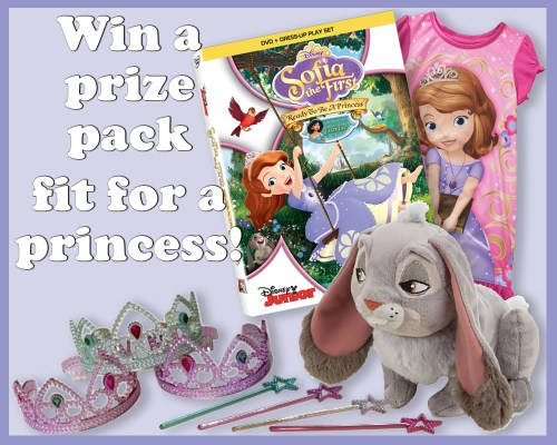 Sofia the First DVD Prize Pack
