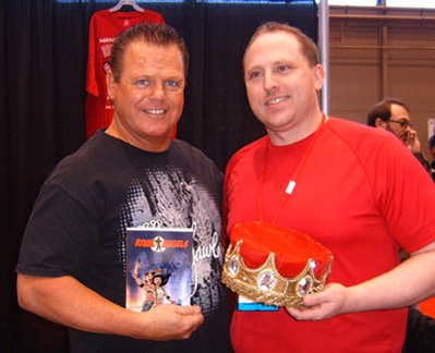 Jerry Lawler and Albone
