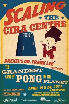 Philadelphia's Giant Pong Game