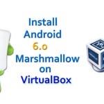 Install Android Marshmallow on VirtualBox