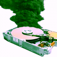 how to detect a failing hard drive