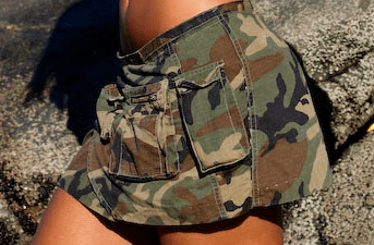 Adopter un look militaire