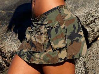 look militaire