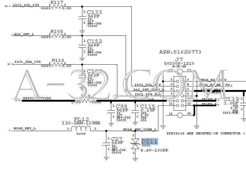 iphone 4s battery diagram
