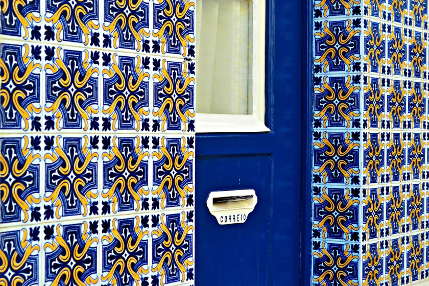azulejos, tiles in Lisbon, Portugal