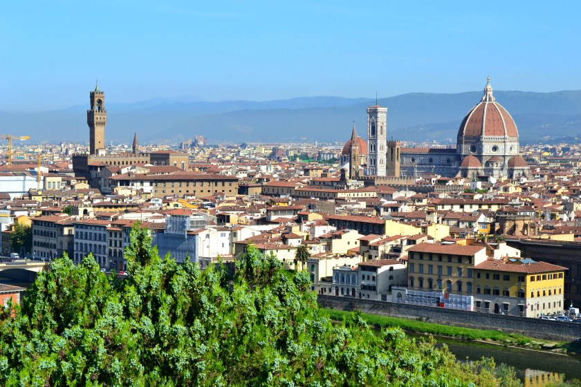 Piazzale Michelangelo, - best view of Florence