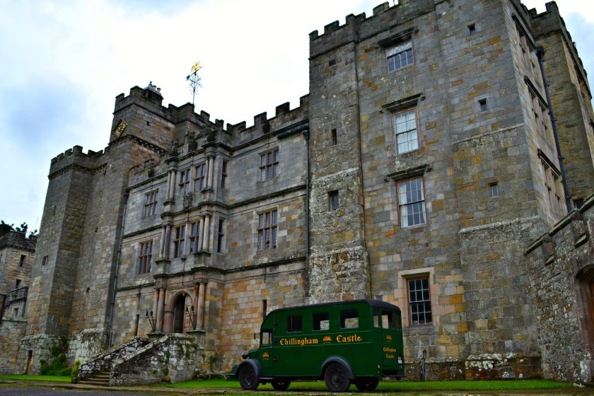 Chillingham Castlle, Northumberland, what to see