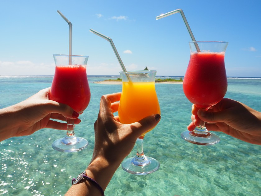 exotic cocktails sun maldives
