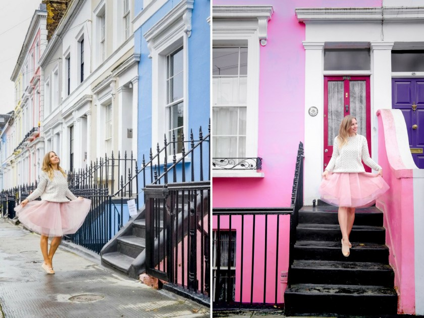 best photo spots in Notting Hill, London