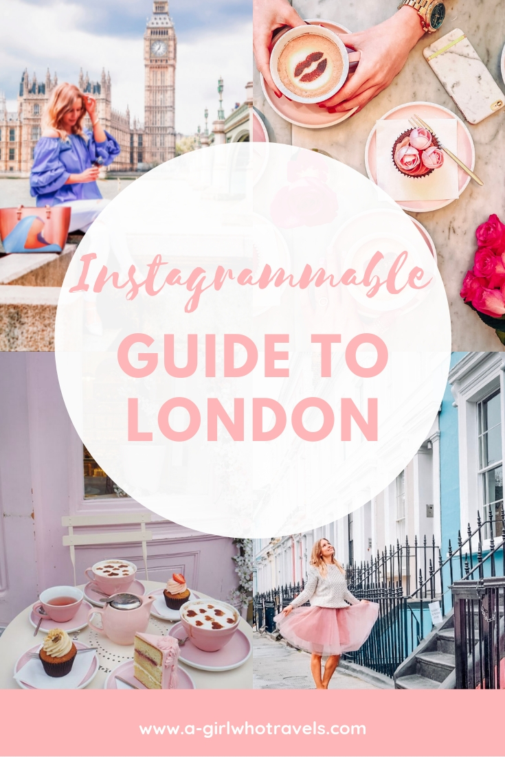 Instagrammable Guide to London