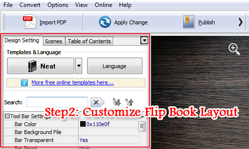 How to Create Online Flash Digital Brochure from PDF Files by using