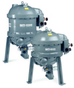 MD 600 - MD 1000 adsorption dryer, watercooled