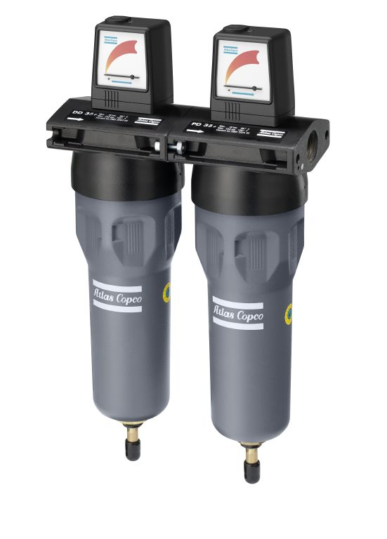 Compressed Air Filter DD+ 35 PD 35+ QD 35+ - wall mounted