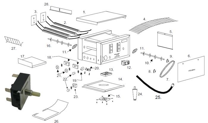 208 volt wiring diagram apw toaster