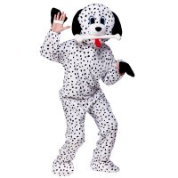 MENS LADIES DOG PUPPY DALMATION DALMATIAN MASCOT SCOOBY ...