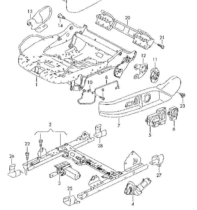 audi schema moteur mecanisme