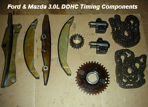 Ford  Mazda 30L V6 Timing Chain Replacement