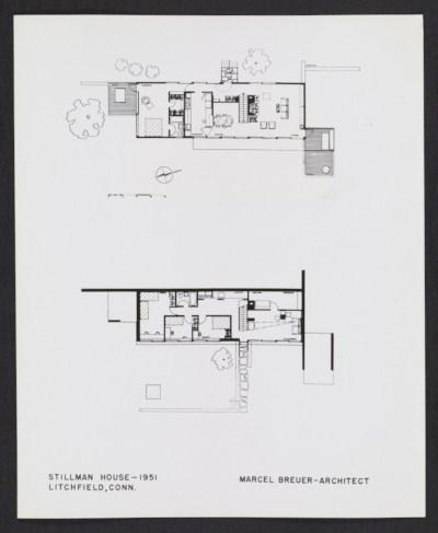 Robinson House Marcel Breuer Modern Architecture Blog Marcel - plan architecturale de maison