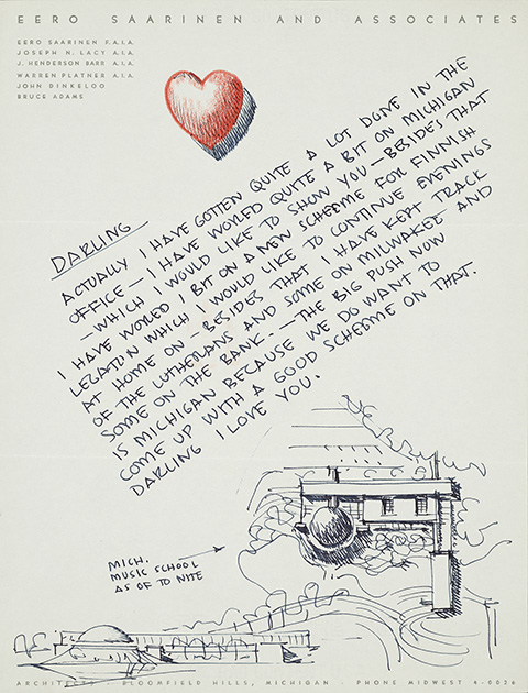 Blog Love Letters to Michigan Archives of American Art