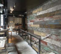 3D Designer Textured Wall Panels - Brick, Distressed Wood ...