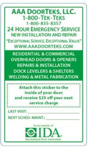 AAA DoorTeks Coupon