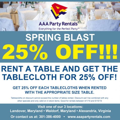 Home - AAA Party Rentals, serving Washington DC, Maryland and