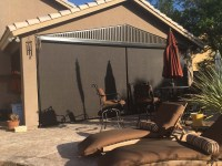 Roll Down Patio Shades Photo Gallery | AAA Sun Control